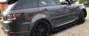 Range Rover Gloss Grey