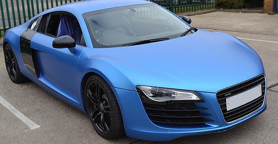R8 matte blue