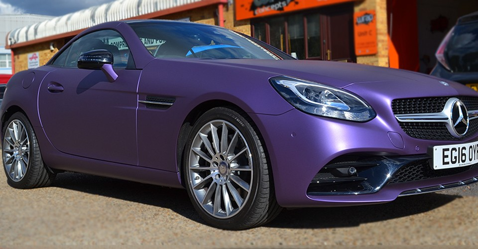 Mercedes Purple Matte