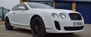 Bentley GT Gloss White