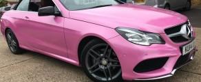 Mercedes Glitter Pink