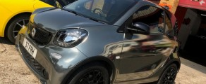 Smart ForTwo Black Chrome