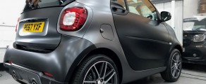 Smart ForTwo Satin black and grey