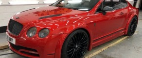 Bentley Continental Metallic Red