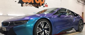 BMW i8 Colour Flip