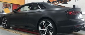 Audi RS5 Satin Black