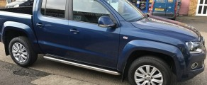 VW Amarok Metallic Blue