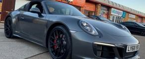 Porsche 911 Targa Gloss Grey