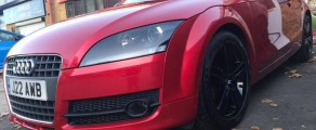 Audi TT Metallic Red