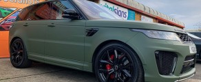 Range Rover SVR Military Green