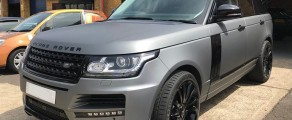 Range Rover Satin Grey