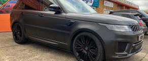 Range Rover Satin Black