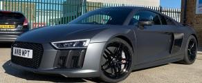 Audi R8 Satin Grey