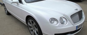 Bentley Pearlescent White