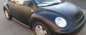 Beetle Matt Black