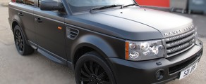 Range Rover Matt Black