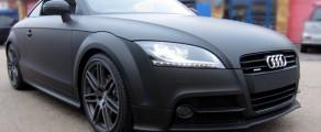 Audi TT Matt Black