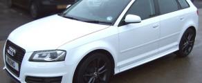 Audi S3 Gloss white
