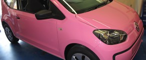 VW UP! Pink