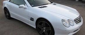 Merc SL500 Gloss White