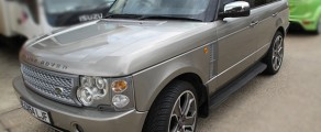 Range Rover Metallic Grey