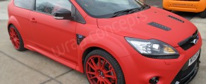RS500 Matt Red