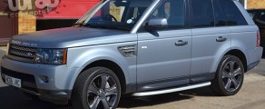 Range Rover Matt Grey