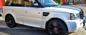 Range Rover Satin Pearl