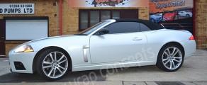 Jaguar XKR Pearl White