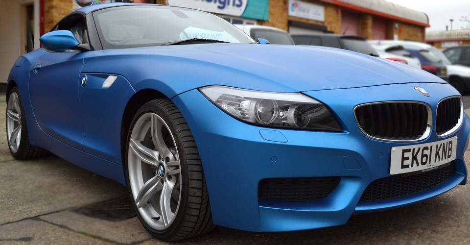 Z4 Wrapped Matt Metallic Blue