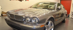 Jag XJ Metallic Grey