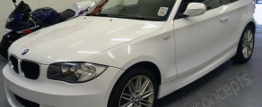 BMW 1 Series Gloss White