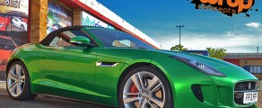 F-Type Metallic Green
