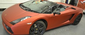 Gallardo Spyder – Matt metallic red