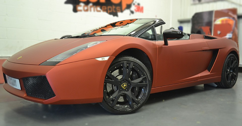 Gallardo Matt Red Metallic