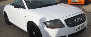 Audi TT Gloss White