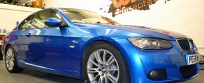 BMW 320 Metallic Blue