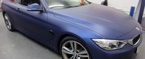BMW 4 Series Matt Dark Blue