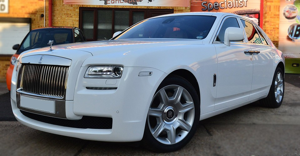 Rolls Royce Gloss White
