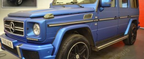 G-Wagon Matt Metallic Blue