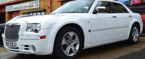 Chrysler 300C Gloss White