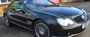 Mercedes SL Gloss Black