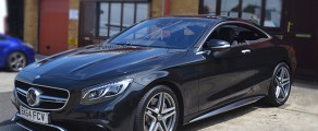 Mercedes S Coupe Metallic Black