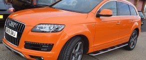 Audi Q7 Metallic Orange
