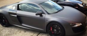 Audi R8 Matte Charcoal