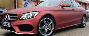 Mercedes Matt Metallic Red
