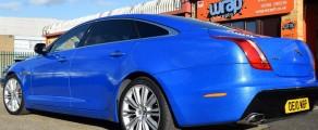 Jaguar XJL Glitter Blue