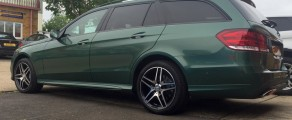 E-Class Estate Metallic Green