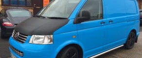 VW T5 Gloss Blue