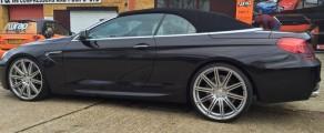 BMW 6 Series Ember Black